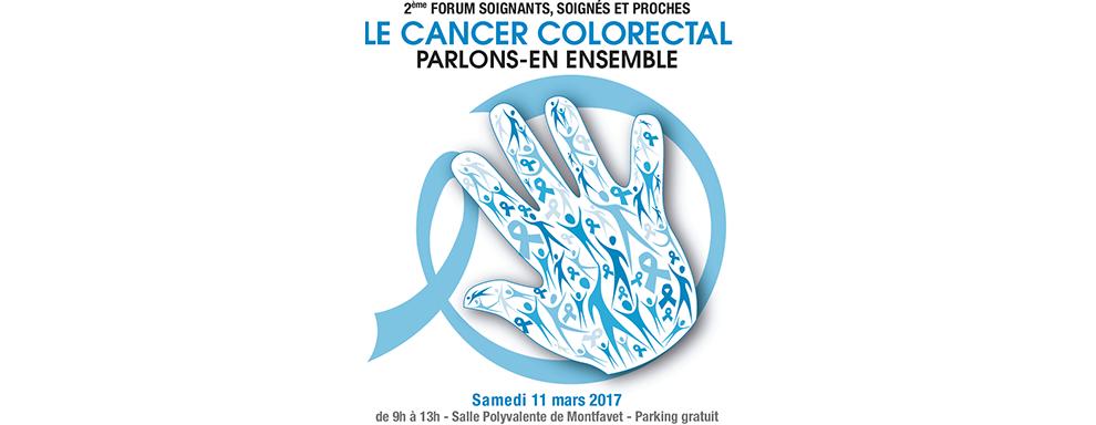 2e forum soignants, soignés et proches sur le cancer colorectal