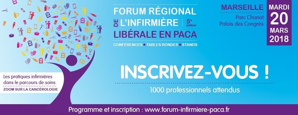 5E FORUM RÉGIONAL DE L'INFIRMIÈRE LIBÉRALE EN PACA