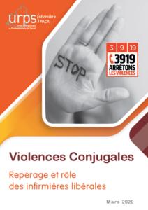 Fiche Violences conjugales : repérage et rôle des infirmières libérales